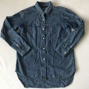 Madewell chambray top